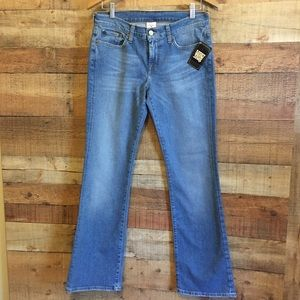 NWT Lucky Brand Jeans Low Rise Flare Size 6/28